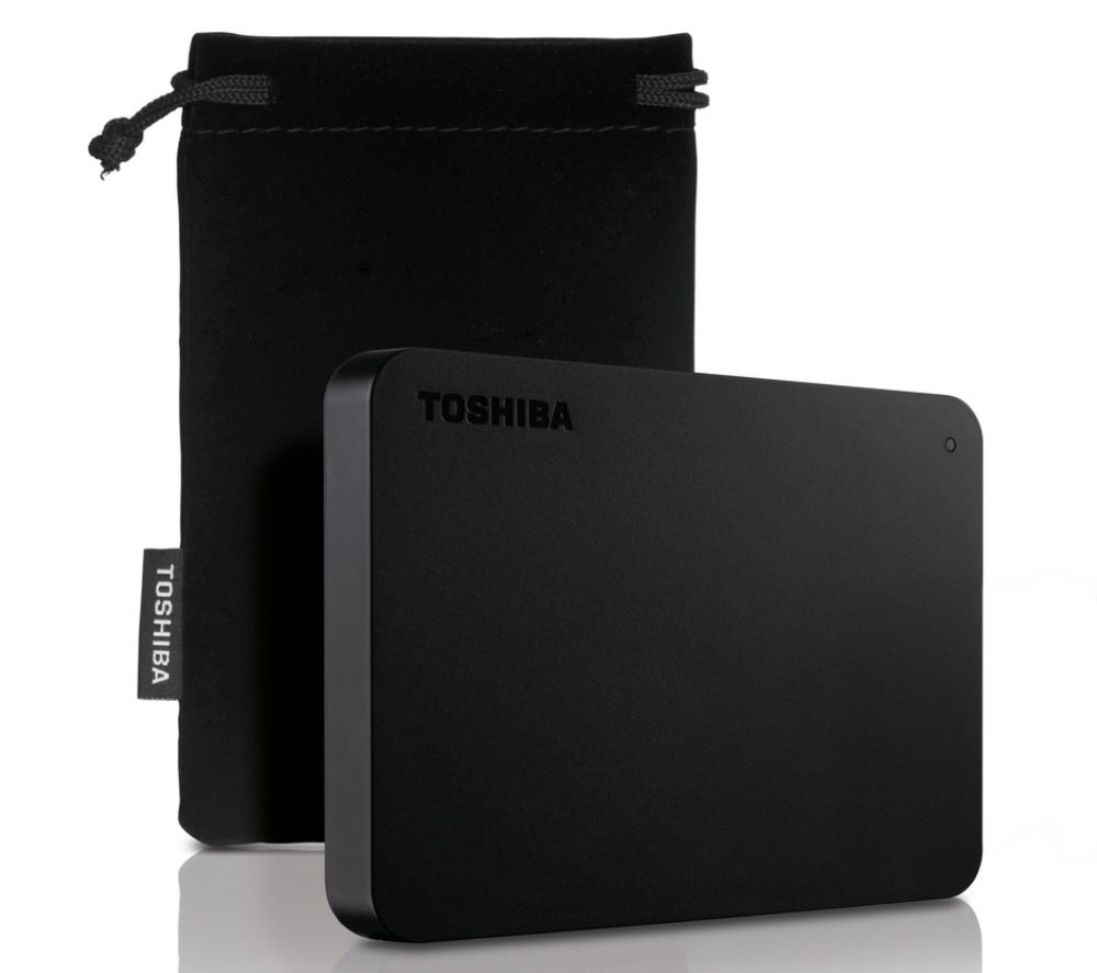TOSHIBA Canvio Basics Portable Hard Drive - 500 GB, Black