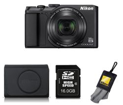 NIKON COOLPIX A900 Superzoom Compact Camera with Accessories - Black