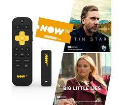 NOW TV Smart Stick with HD & Voice Search - 2 Month Entertainment Pass
