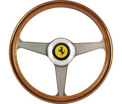 THRUSTMASTER Ferarri 250 GTO Racing Wheel Add On - Silver & Brown