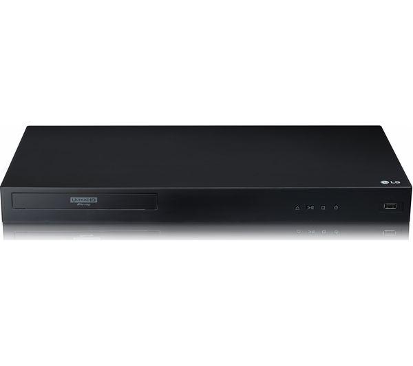 Image of LG UBK80 4K Ultra HD HDR Blu-ray & DVD Player