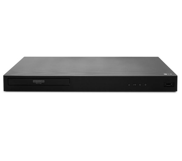 LG UBK80 4K Ultra HD HDR Blu-ray & DVD Player