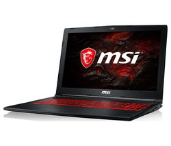 "MSI GL62MVR 15.6"" Intel® Core™ i5 GTX 1060 Gaming Laptop - 256 GB SSD"