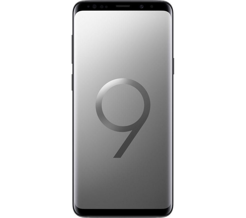 half off ab13f 38132 Buy SAMSUNG Galaxy S9+ - 256 GB, Titanium | Free Delivery | Currys