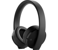 PS4 Gold Wireless 7.1 Gaming Headset - Black