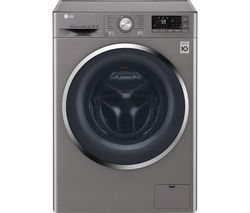 LG Direct Drive FH4U2JCN8 Smart 10 kg 1400 Spin Washing Machine - Graphite