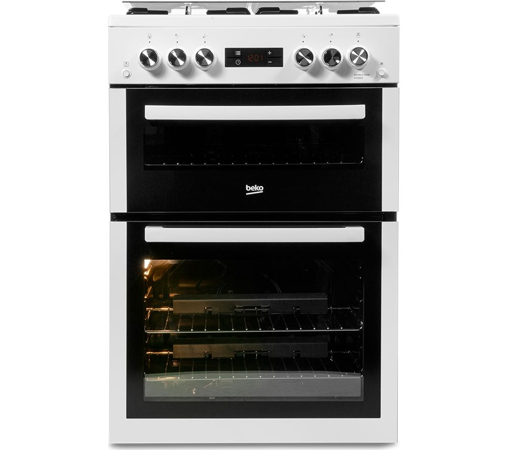 BEKO XTG653W 60 cm Gas Cooker - White