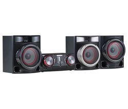 LG CJ45 Bluetooth Megasound Party Hi-Fi System - Black