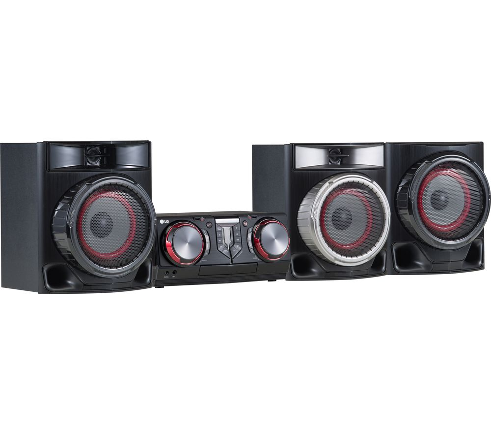 LG CJ45 Bluetooth Megasound Party Hi-Fi System specs