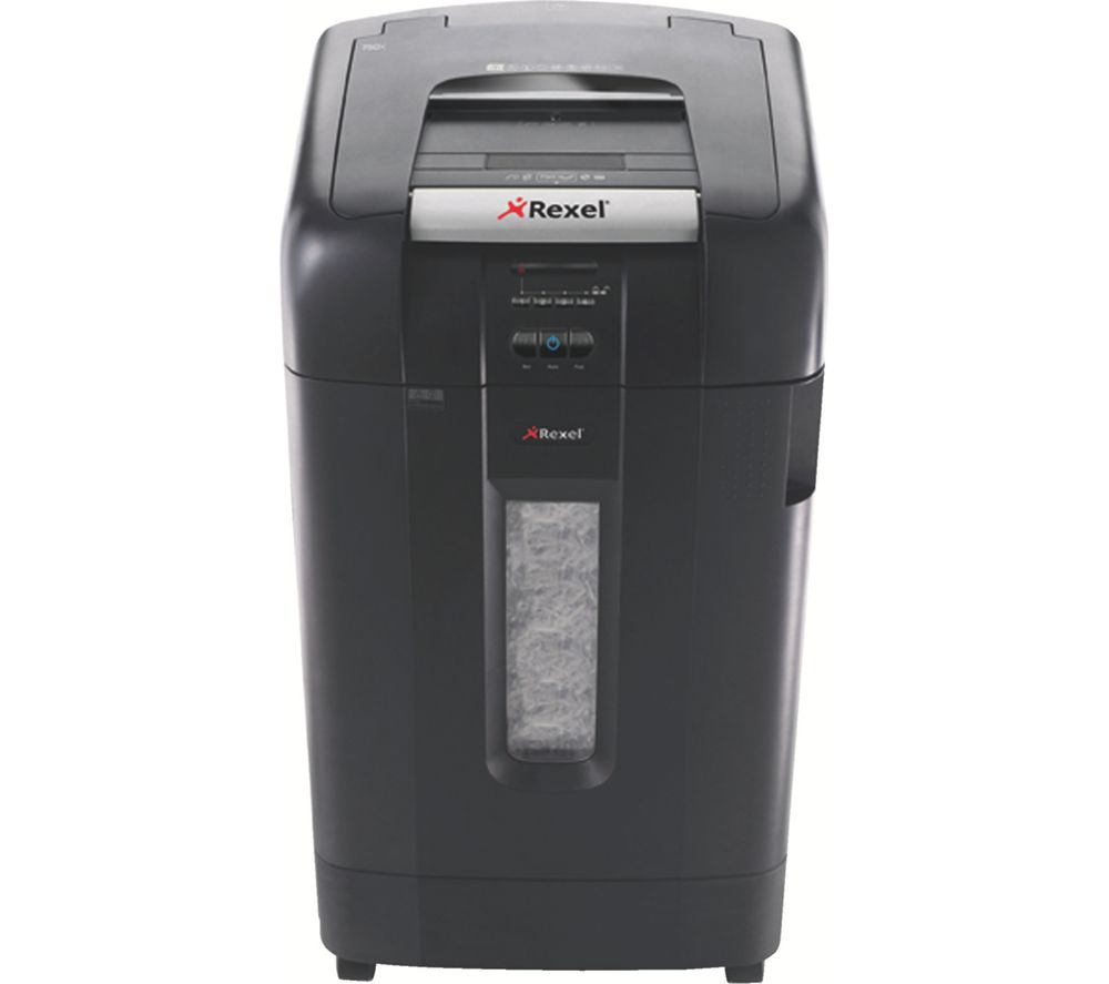 REXEL Auto+ 750X Cross Cut Paper Shredder