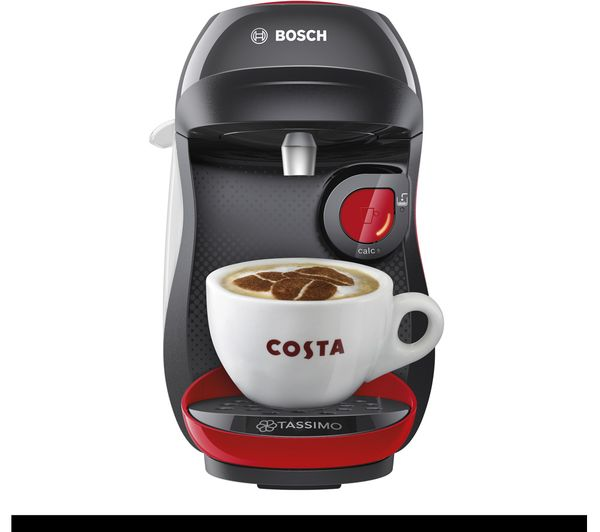 Image of TASSIMO by Bosch Happy TAS1003GB Coffee Machine - Red
