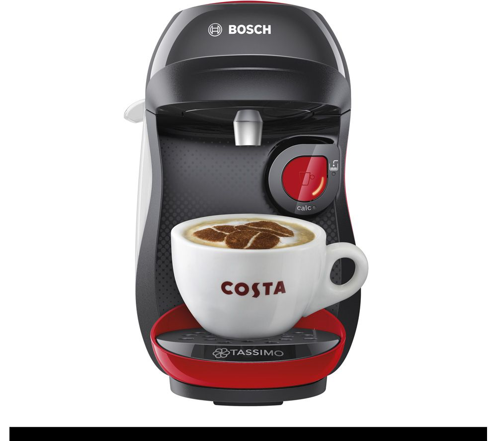 TASSIMO by Bosch Happy TAS1003GB Coffee Machine - Red