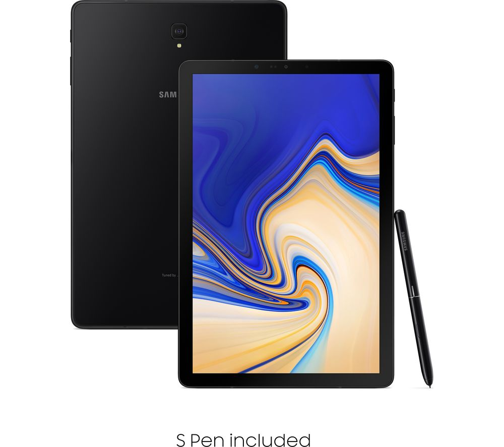 "SAMSUNG Galaxy Tab S4 10.5"" Tablet - 64 GB, Ebony Black"