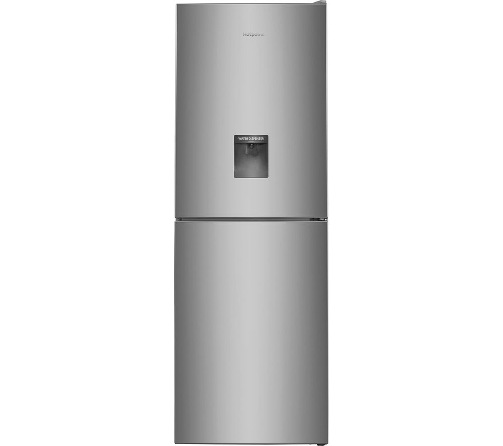 HOTPOINT Day1 XAL85 T1I G WTD.1 50/50 Fridge Freezer - Silver