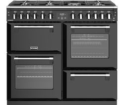 STOVES Richmond S1000DF 100 cm Dual Fuel Range Cooker - Black