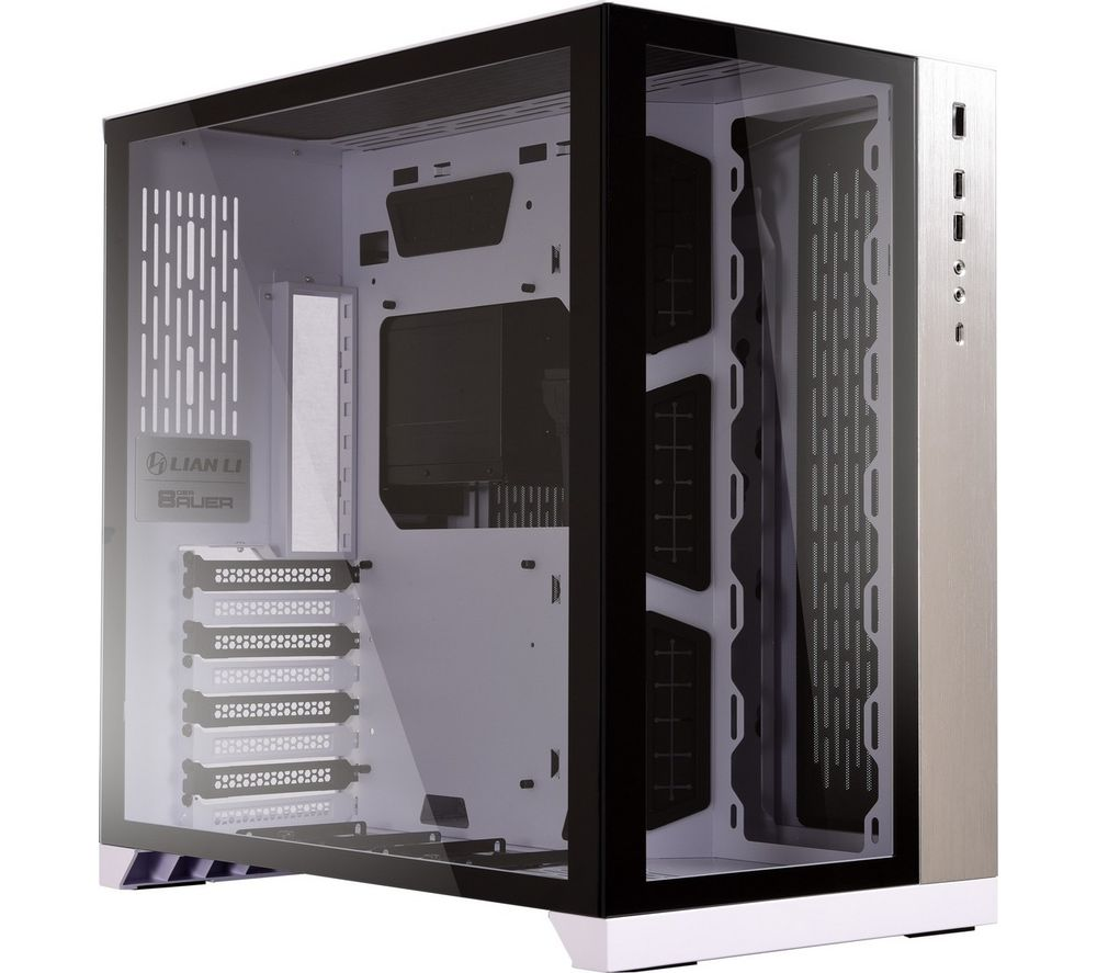 LIAN-LI PC-O11DW Dynamic Mid-Tower ATX PC Case - White