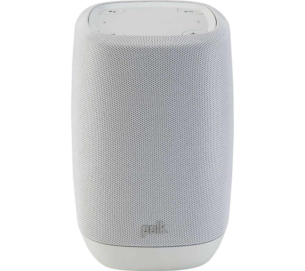 POLK AUDIO Assist Wireless Bluetooth Multi-room Speaker with Google Assistant - Grey
