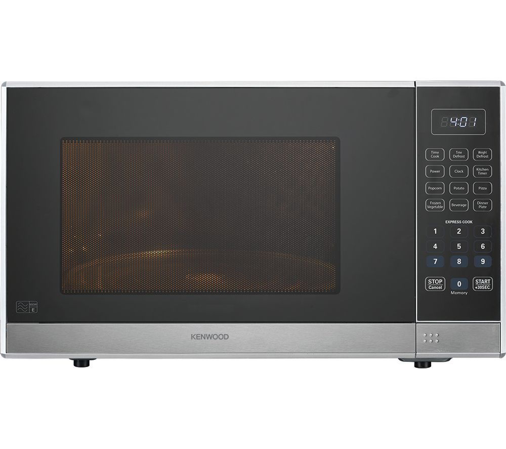 KENWOOD K25MSS19 Solo Microwave - Silver
