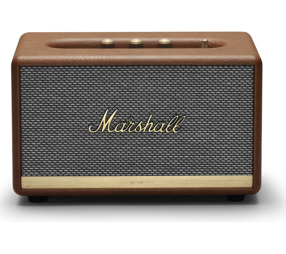 Image of Marshall Acton II Bluetooth Speaker - Brown, Brown
