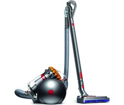Big Ball Multifloor 2 Cylinder Bagless Vacuum Cleaner - Grey & Yellow