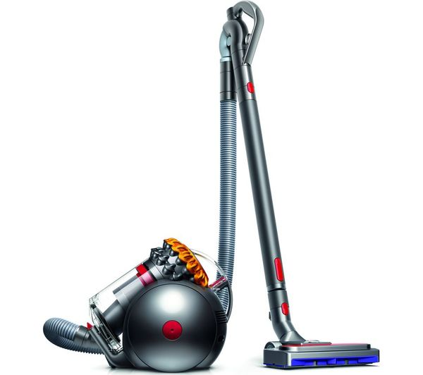 Image of DYSON Big Ball Multifloor 2 Cylinder Bagless Vacuum Cleaner - Grey & Yellow