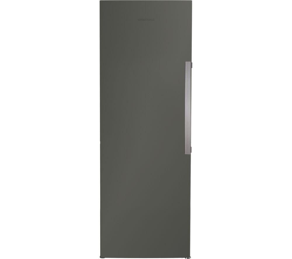 GRUNDIG GFN1671G Tall Freezer - Graphite
