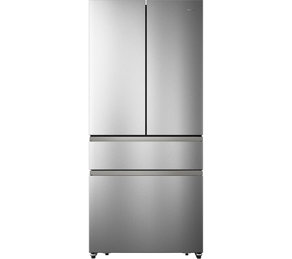 HISENSE PureFlat RF540N4AI1 Fridge Freezer - Stainless Steel, Stainless Steel