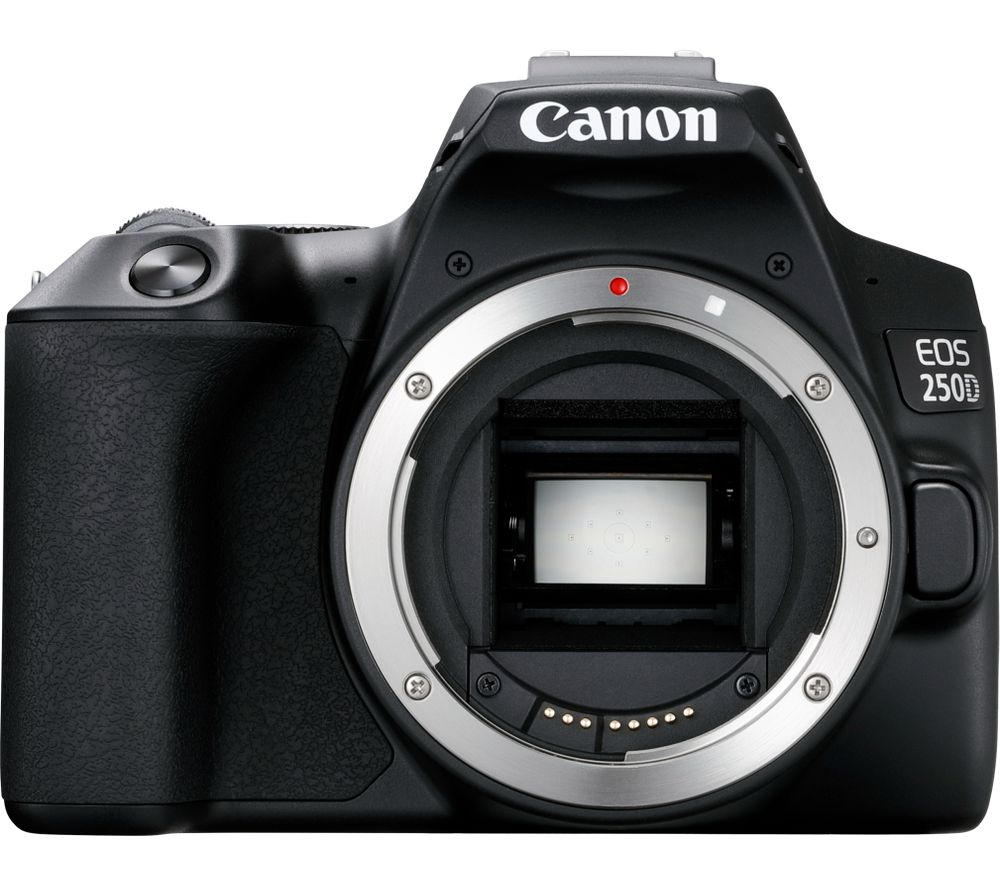CANON EOS 250D DSLR Camera - Body Only