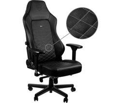 NOBLECHAIRS HERO Gaming Chair - Black & White