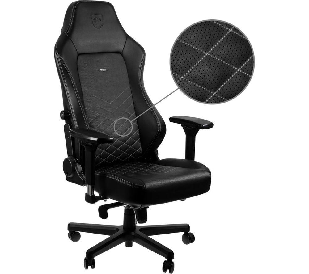 NOBLE CHAIRS HERO Gaming Chair - Black & White