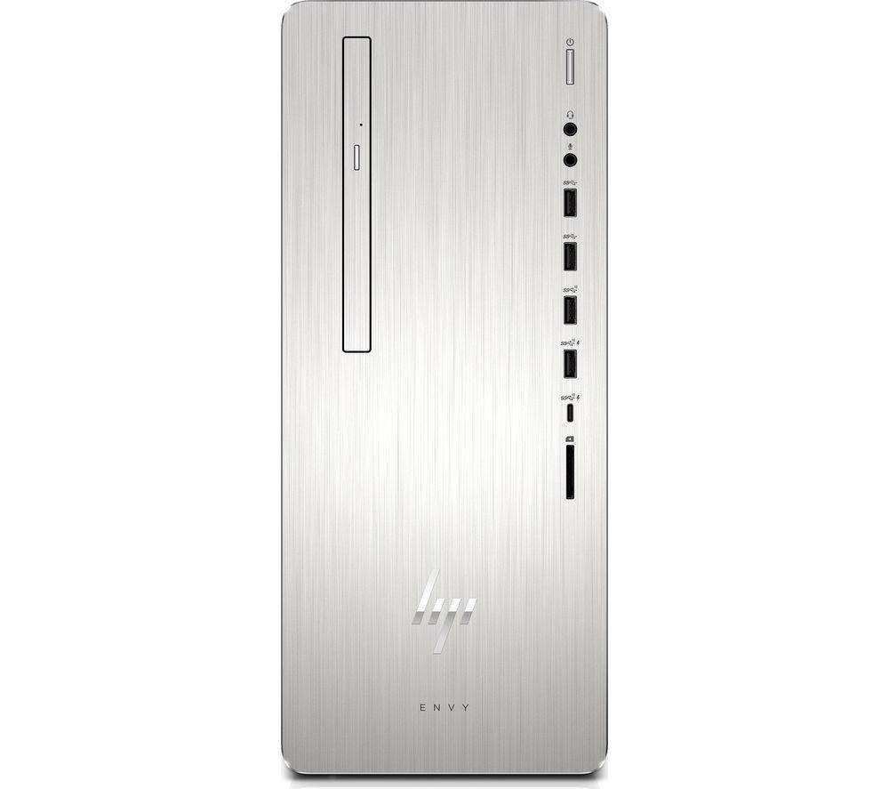HP ENVY 795-0011na Intel® Core™ i7 Desktop PC  - 2 TB HDD & 256 GB SSD, Silver