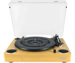 Sound HX-TTP200WDA-GB Belt Drive Turntable - Wood