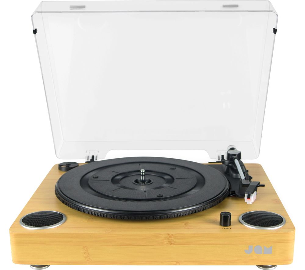 JAM Sound HX-TTP200WDA-GB Belt Drive Turntable - Wood