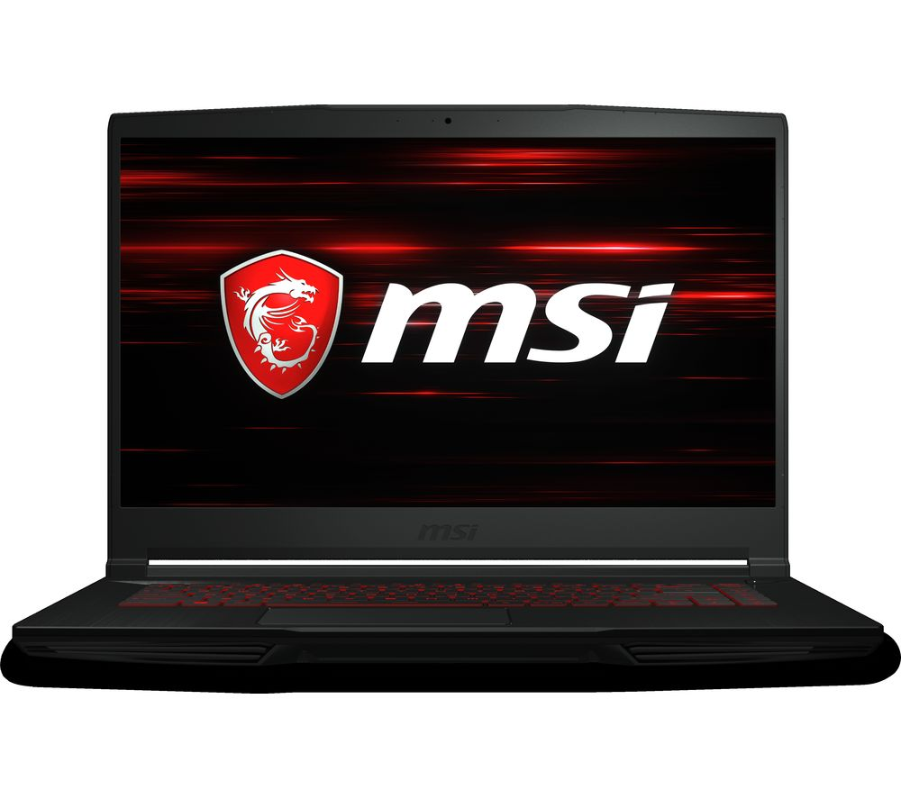 "MSI GF63 Thin 15.6"" Intel® Core™ i7 GTX 1650 Gaming Laptop - 1 TB HDD & 128 GB SSD"