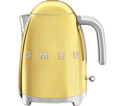 SMEG 50's Style KLF03GOUK Jug Kettle - Gold