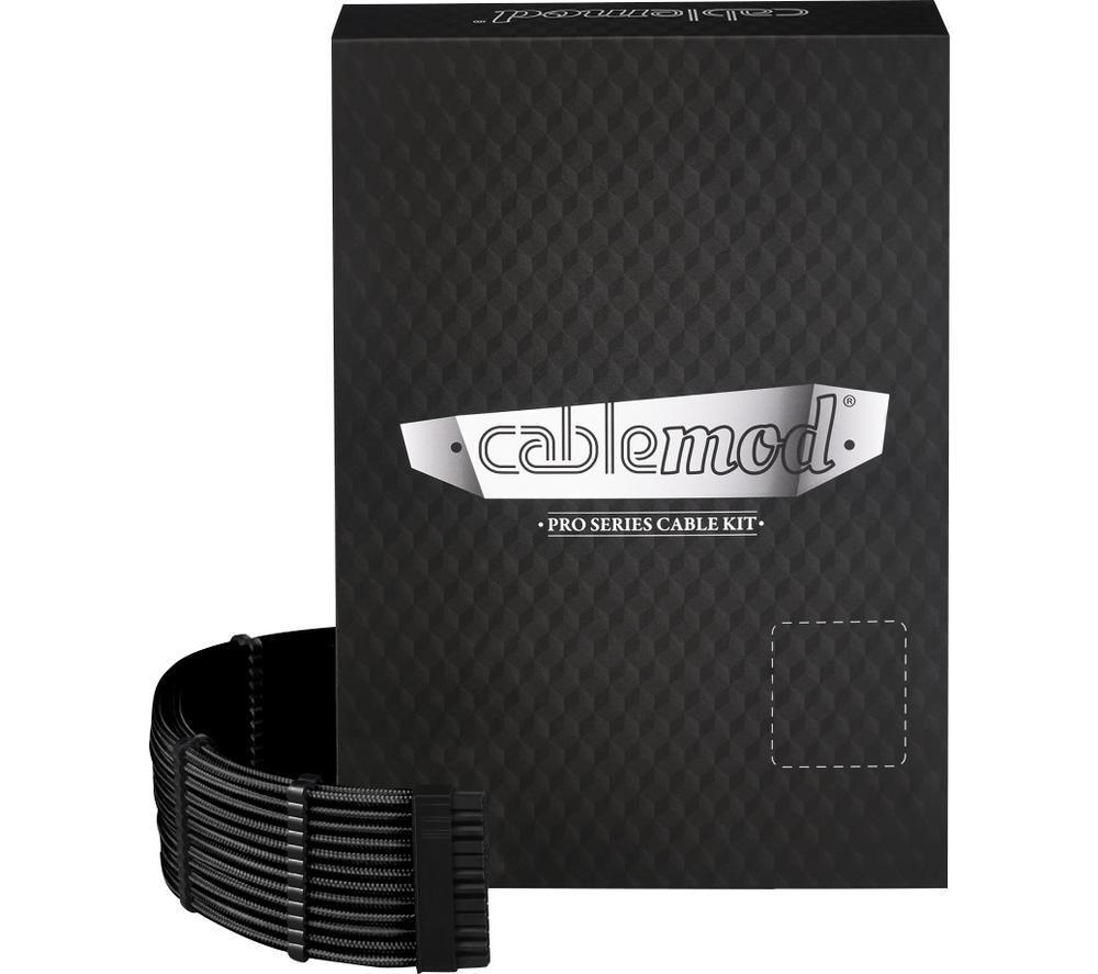 CABLEMOD ModMesh C-Series Corsair AXi HXi RM Cable Kit - Black, Black