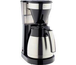 Easy Top Therm II Filter Coffee Machine - Black & Stainless Steel