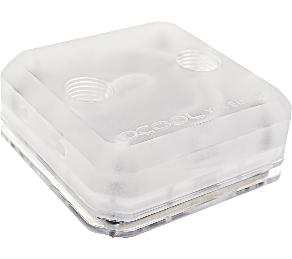 ALPHACOOL Ice Block XPX Intelu0026regAMD CPU Water Block, Transparent