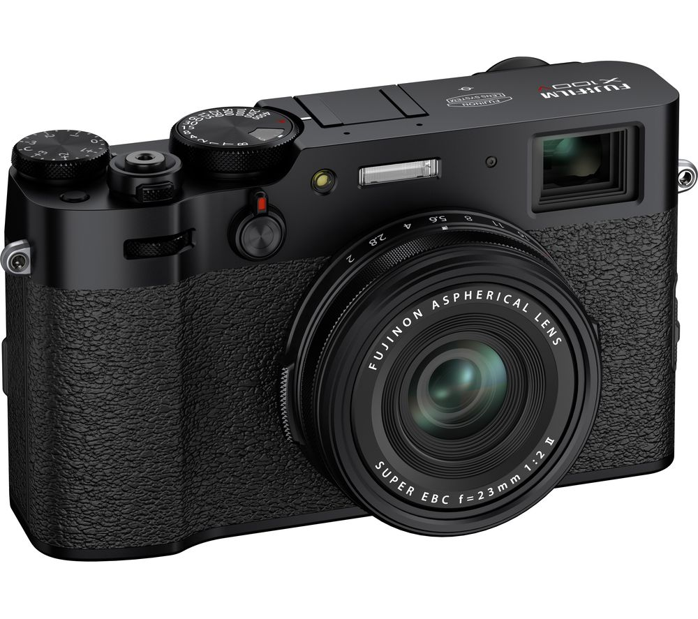 FUJIFILM X100V High Performance Compact Camera - Black