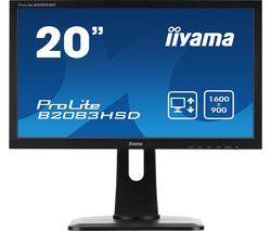 "ProLite B2083HSD-B1 20"" LCD Monitor - Black"