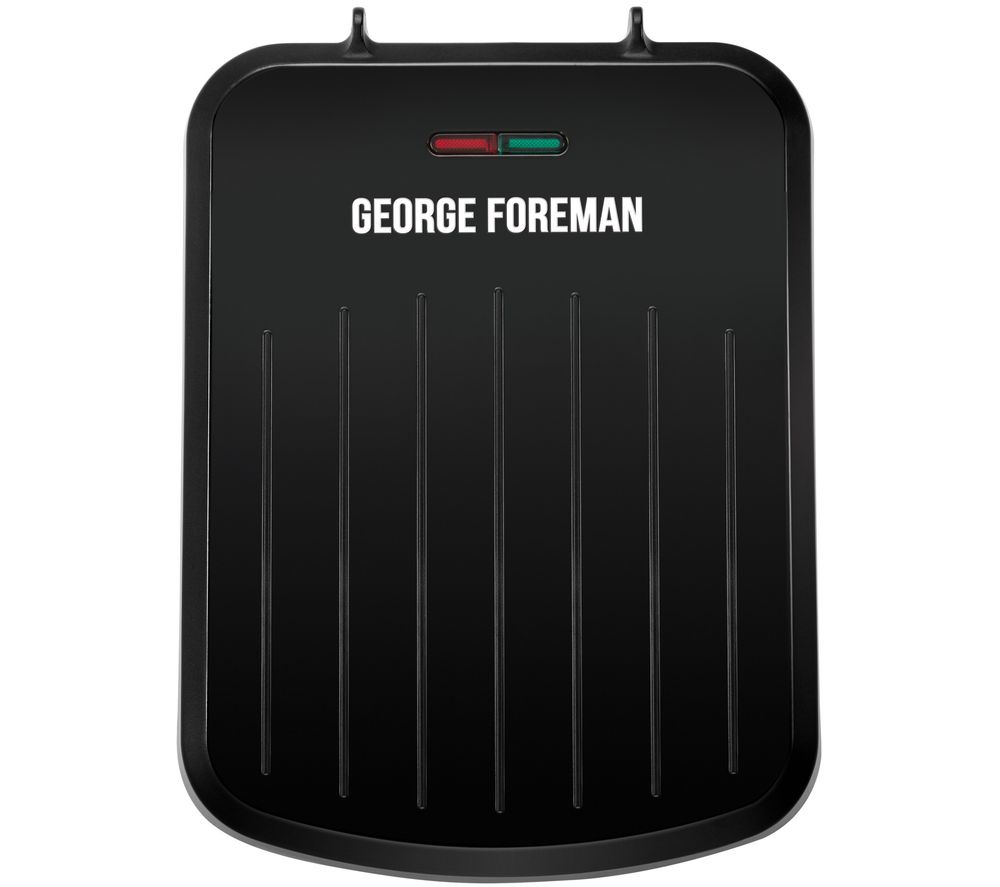 GEORGE FOREMAN 25800 Small Fit Grill - Black, Black
