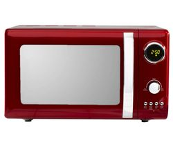 DAEWOO Kensington SDA1656 Solo Microwave - Red Best Price, Cheapest Prices
