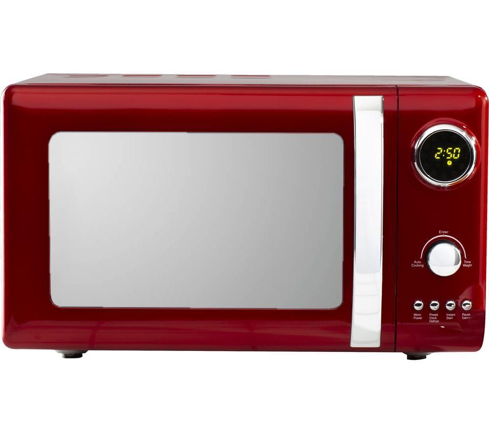 Daewoo Kensington Sda1656 Solo Microwave Red Red