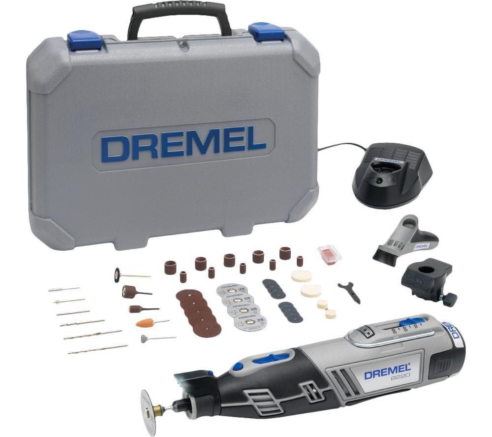 DREMEL 8220-2 45-Piece Cordless Multi-Tool Kit - Grey