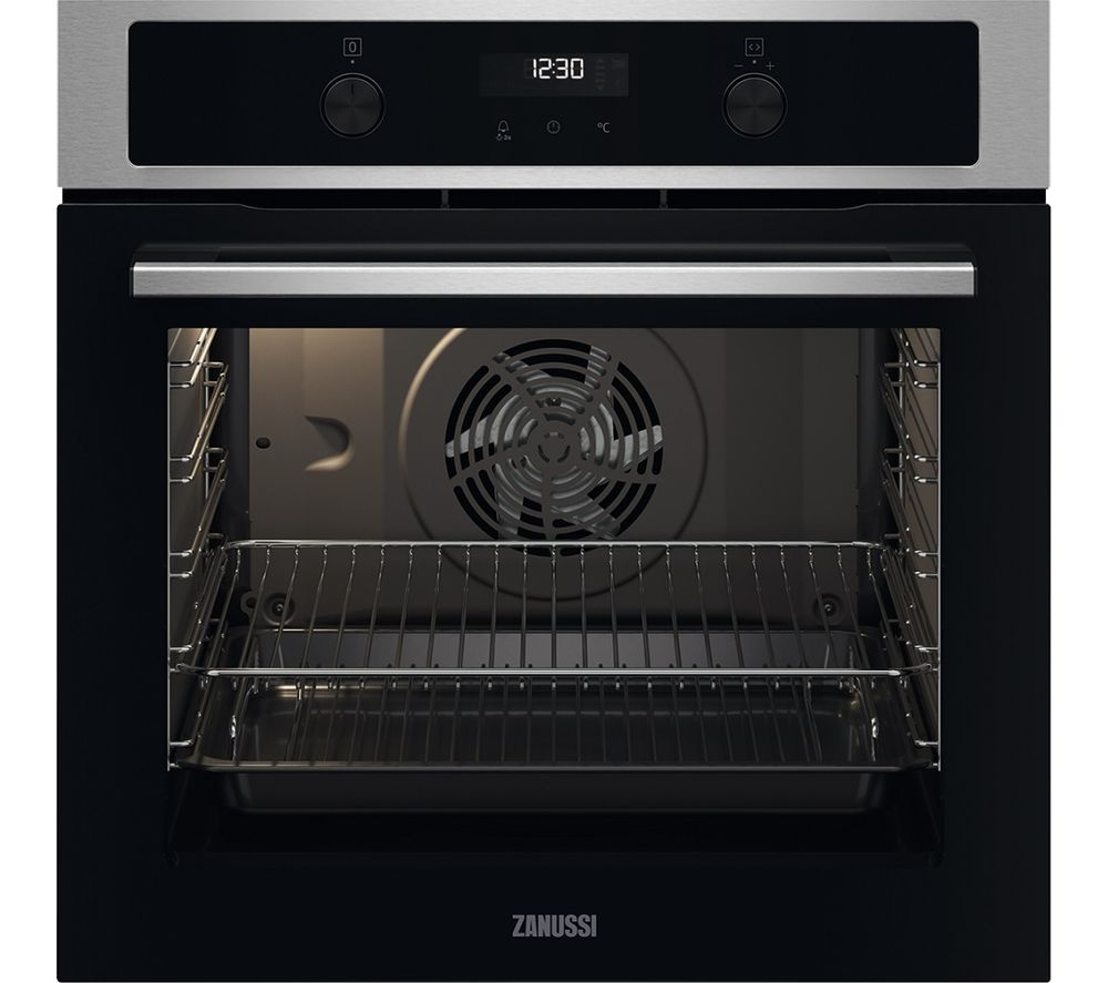 ZANUSSI FanCook ZOCND7X1 Electric Steam Oven - Stainless Steel, Stainless Steel