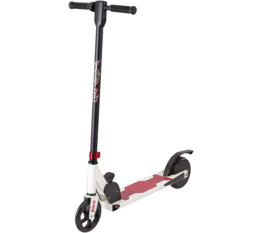 XOOTZ Evader TY6092 Electric Scooter - White, Red & Black