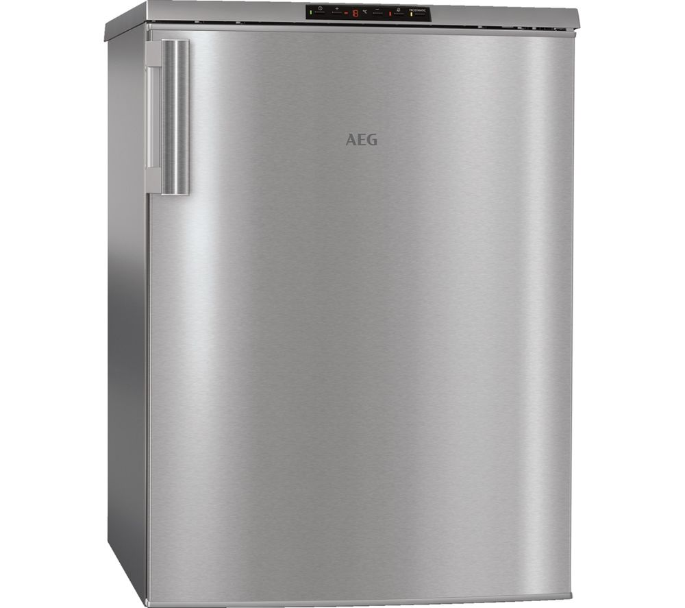 AEG ATB68F6NX Undercounter Freezer - Stainless Steel, Stainless Steel