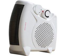 HEA1339 Portable Fan Heater - White