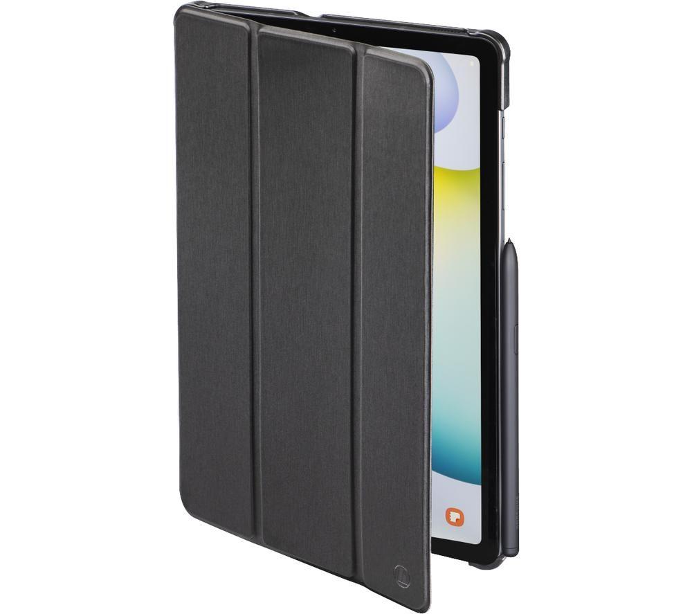 """HAMA Essential Fold 10.4"""" Samsung Galaxy Tab S6 Lite Case - Black"""