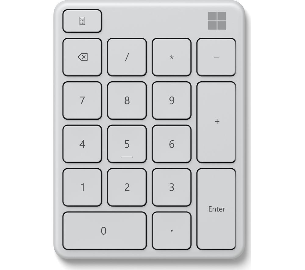 MICROSOFT 23O-00029 Wireless Number Pad - White